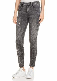 Kenneth Cole Women's Washed Down  Skinny Jean