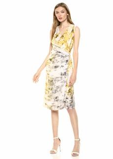 Kenneth Cole Women's Waterfall Dress  L