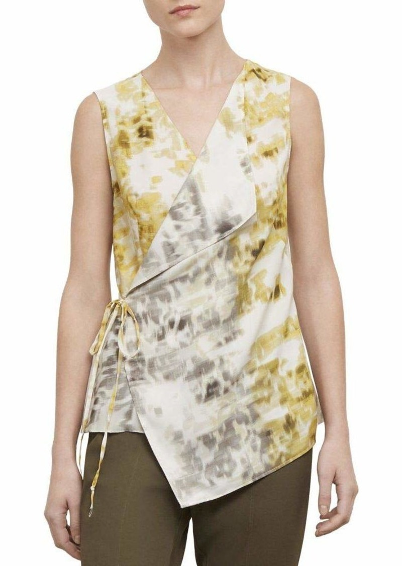Kenneth Cole Women's Waterfall TOP unblch Floral Mimosa