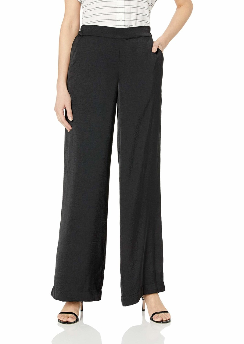 Kenneth Cole Women's Wide Leg Pull ON Pant  M