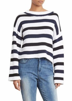 Kenneth Cole Women's Wide Sleeve Stripe
