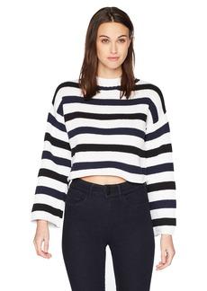 Kenneth Cole Women's Wide Sleeve Stripe  S