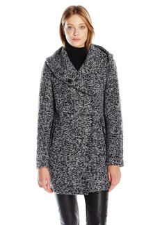 Kenneth Cole Women's Novelty Wool Coat