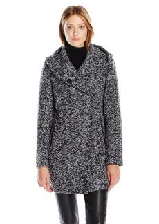 Kenneth Cole Women's Novelty Wool Coat