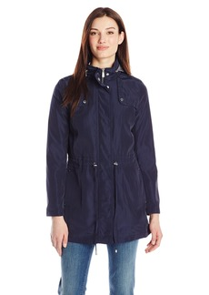 Kenneth Cole Women's Zip Front Anorak with Hood