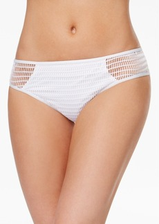 Kenneth Cole Wrapped In Love Crochet Hipster Bikini Bottoms Women's Swimsuit