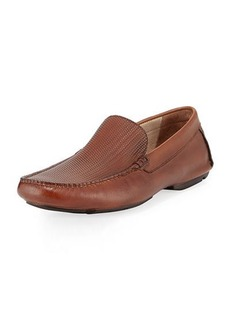 Kenneth Cole Write in Stone Leather Loafer with Silver Technology
