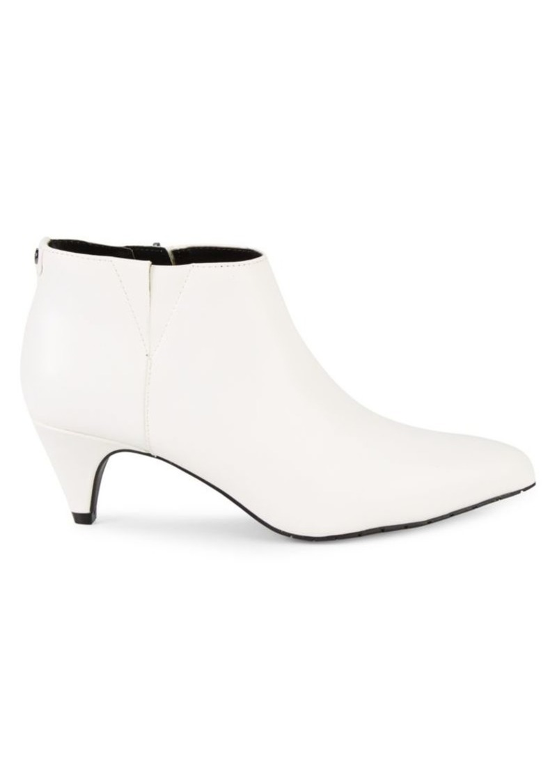 Kenneth Cole Kick Faux Leather Booties