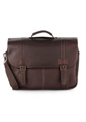 Kenneth Cole Leather Flap Briefcase