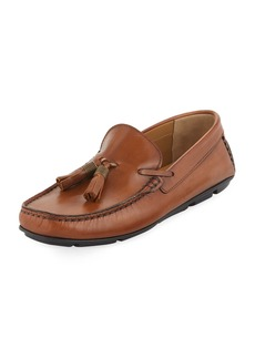 Kenneth Cole Leather Tassel Moc Driver
