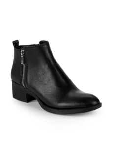 Kenneth Cole Lonnie Leather Zip Chelsea Boots