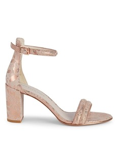 Kenneth Cole Lex Ankle-Strap Leather Sandals