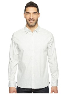 Kenneth Cole Long Sleeve Abstract Slim Print Shirt
