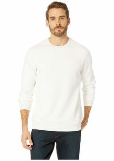 Kenneth Cole Long Sleeve Blocked Texture Sweatshirt