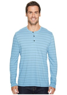 Kenneth Cole Long Sleeve Henley w/ Wicking