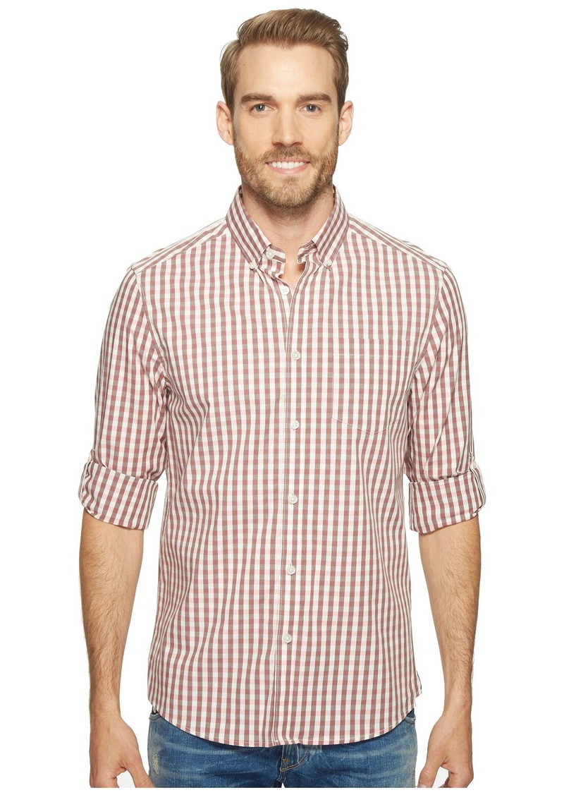 Kenneth Cole Long Sleeve Iridescent Check Shirt