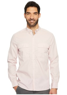 Kenneth Cole Long Sleeve Solid Stretch Utility