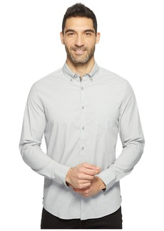 Kenneth Cole Long Sleeve Stretch End on End Shirt