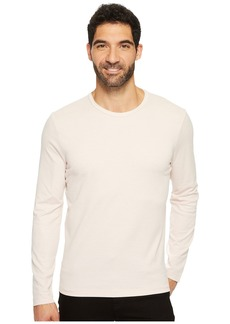 Kenneth Cole Long Sleeve Two-Tone Crew