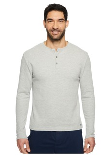 Kenneth Cole Long Sleeve Waffle Crew Single