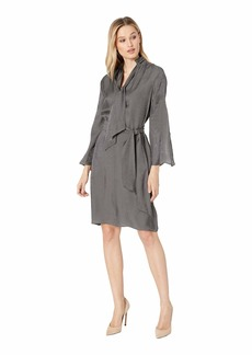 Kenneth Cole Lurex Twill Dress