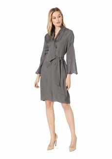 Kenneth Cole Lurex Twill Dress