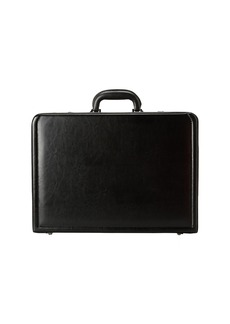 """Kenneth Cole Manhattan Leather - 4-4.75"""" Expandable Computer Attache With Removable Computer Sleeve"""