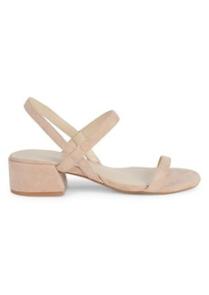 Kenneth Cole Marcel Suede Slingback Sandals