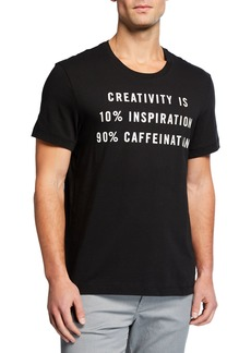 Kenneth Cole Men's Caffeination Graphic T-Shirt