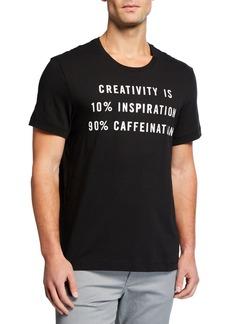 Kenneth Cole Men's Caffeination Graphic T-Shirt