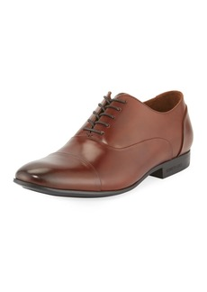 Kenneth Cole Men's Cap-Toe Leather Oxfords