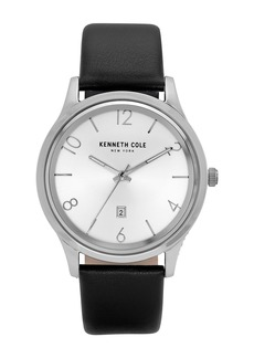 Kenneth Cole Men's Classic Black Watch, 44mm
