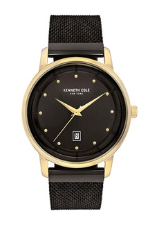 Kenneth Cole Men's Classic Mesh Strap Watch, 43mm