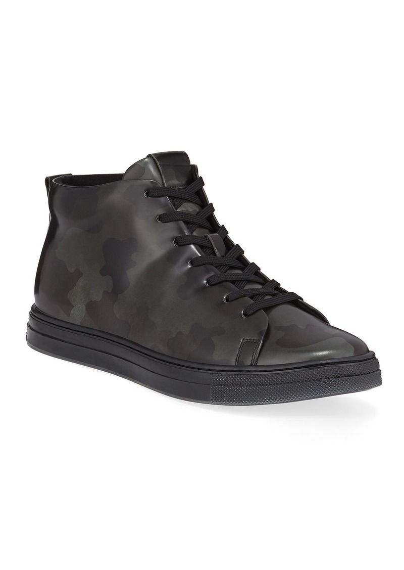 Kenneth Cole Men's Colvin High-Top Camo Sneakers
