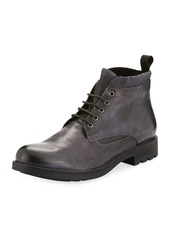 Kenneth Cole Men's Leather Lace-Up Boots