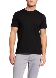 Kenneth Cole Men's Logo Caviar Beaded T-Shirt