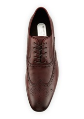 Kenneth Cole Men's Mix Wing-Tip Oxford