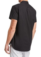Kenneth Cole Men's Ripstop Short-Sleeve Sport Shirt