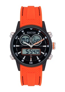 Kenneth Cole Men's Sport Silicon Strap Watch, 40mm
