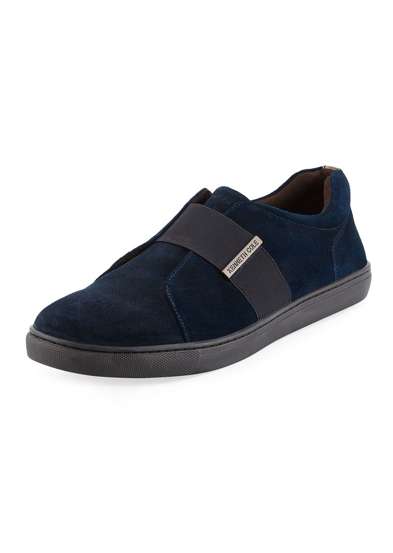 Kenneth Cole Men's Suede Slip-on Sneakers