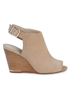 Kenneth Cole Merrick Suede Wedge Sandals