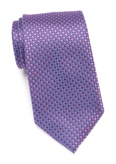 Kenneth Cole Micro Diamond Silk Blend Tie
