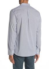 Kenneth Cole Micro Stripe Print Slim Fit Shirt