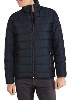 Kenneth Cole Mid-Weight Quilted Puffer