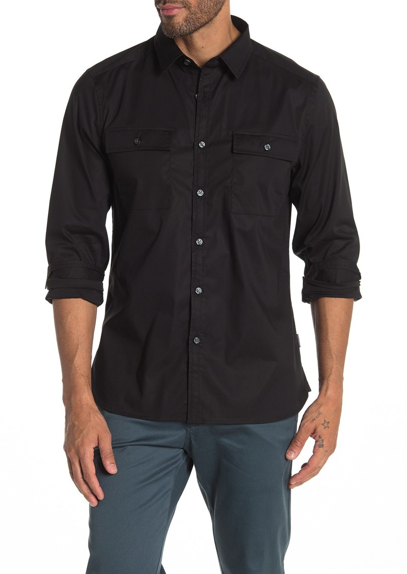 Kenneth Cole Mobility Slim Fit Shirt