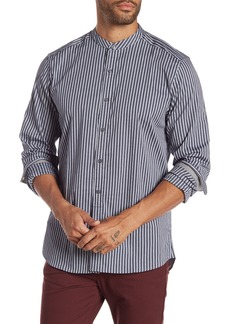 Kenneth Cole Mock Neck Regular Fit Shirt