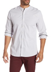 Kenneth Cole Mock Neck Regular Fit Shirt