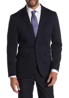 Kenneth Cole Navy Blue Slim Fit Evening Jacket