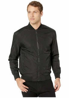 Kenneth Cole Nylon Zip Bomber