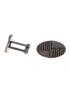 Kenneth Cole Ox Oval Textured Cuff Links